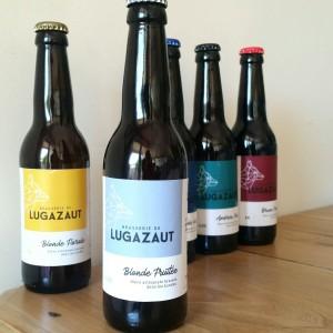 Blonde Fruitée de la Brasserie de Lugazaut - Microbrasserie locale - Landes