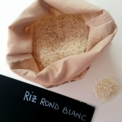 Riz rond blanc - 200g