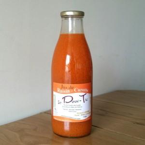 Jus de raisin/carotte