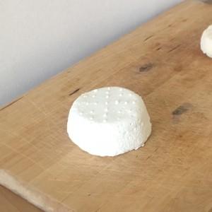Crottin de chèvre frais - circuit-court épicerie locale - lait cru - bacotte - landes