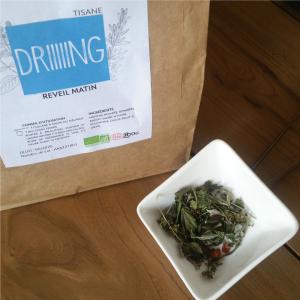 Tisane réveil matin, alternative au café ou au thé - Producteur ferme des médicinales