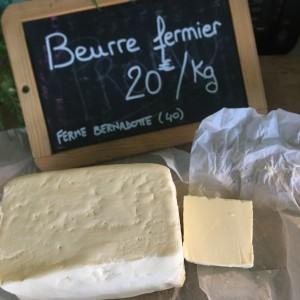 Beurre fermier - 200g