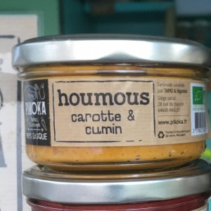 Houmous bio local landes pays basque épicerie producteur circuit-court