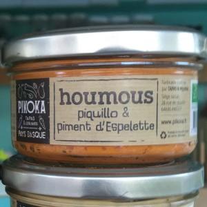 houmous piquillo piment espelette landes producteur circuit-court bio