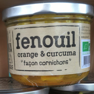 Fenouil orange & curcuma BIO