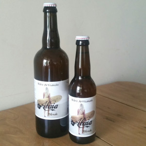 Bière blonde Alaia 3,8° -...